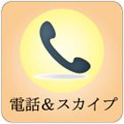 電話&スカイプによるサポート